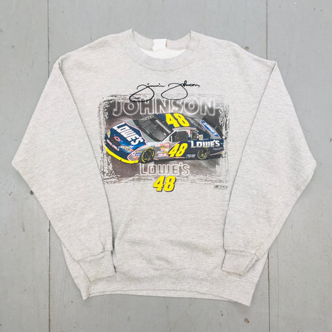 "NASCAR: ""Jimmie Johnson"" Embroidered Signature Chase Authentics Sweat (L)"