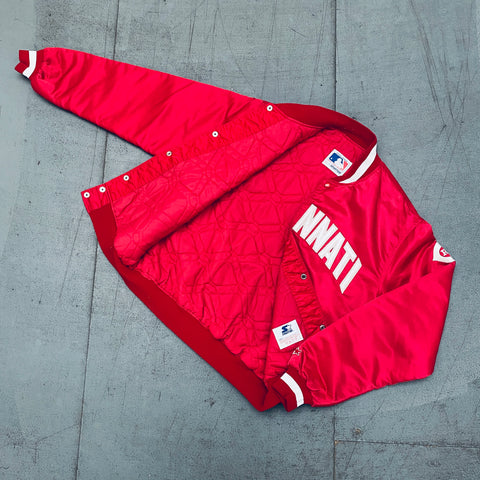Los Angeles Rams: 1990's 1/4 Zip Starter Jacket (L)