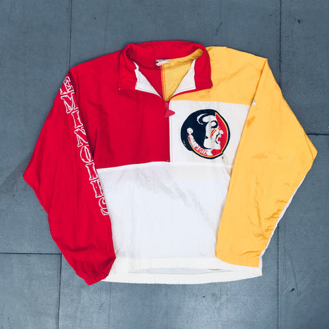 FSU Seminoles: 1980's Apex One 1/4 Zip Windbreaker (S)