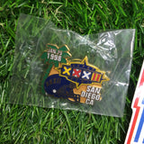 Superbowl XXXII (Broncos vs. Packers) Commemorative Pin