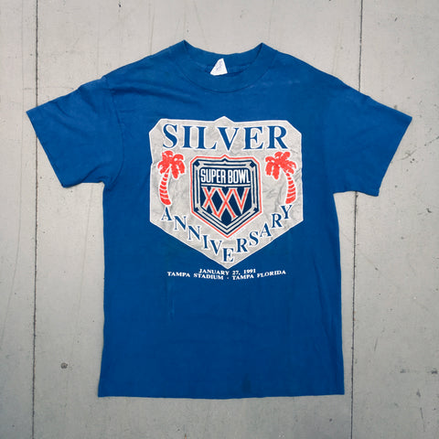 New York Giants: 1991 Superbowl XXV Tee (S)