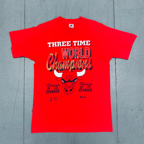 Kansas City Chiefs: 1993 AFC Western Champions Graphic Spellout Sweat (M/L)