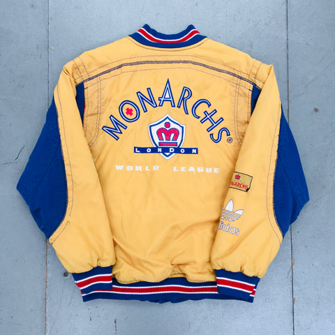WLAF: 1991 London Monarchs Adidas Jacket (S/M)