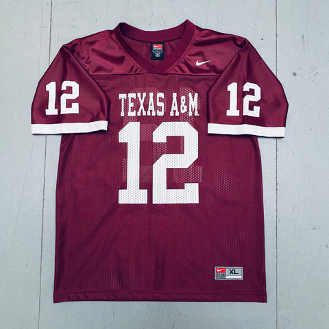 "Texas A&M Aggies: No. 12 ""The 12th Man"" Nike Jersey (S)"