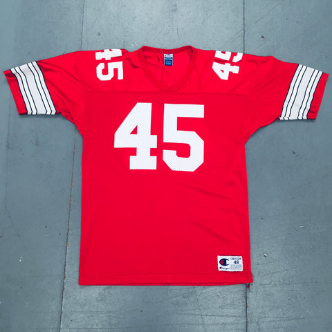 THE Ohio State Buckeyes: Archie Griffin 1975 Champion Jersey (L)