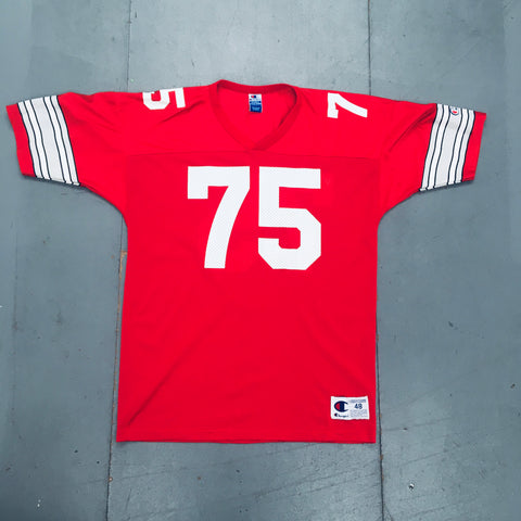 "THE Ohio State Buckeyes: No. 75 ""Orlando Pace"" Champion Jersey (L)"
