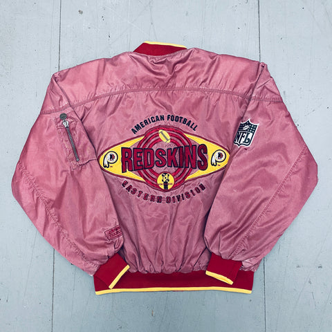 Washington Redskins: 1991 Deadstock Campri Hydro Wash Fullzip Bomber Jacket (XS, S, M, L) -BNWT!