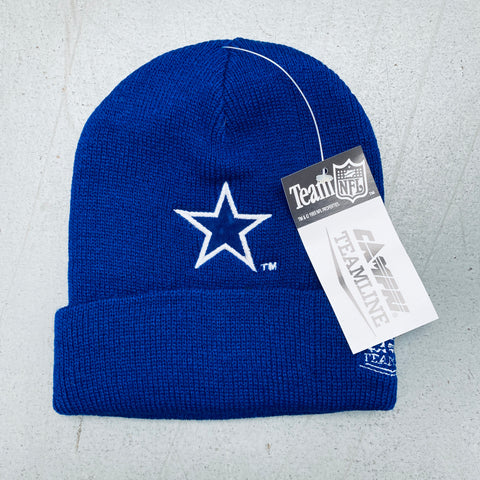 Dallas Cowboys: 1990's Deadstock Campri Embroidered Beanie - BNWT!
