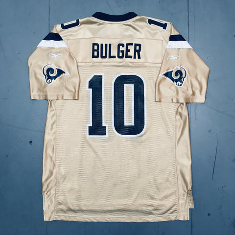 St. Louis Rams: Marc Bulger Gold Alternate 2005/06 (L)