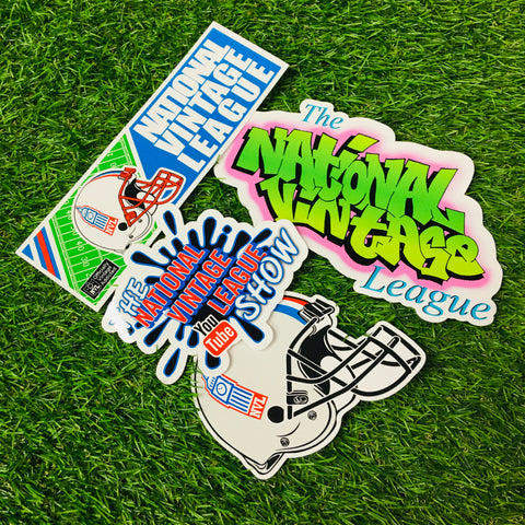 "National Vintage League: The ""Slap"" Stickers"