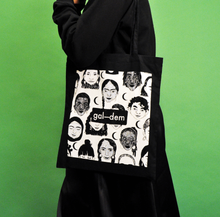 Load image into Gallery viewer, gal-dem UN/REST Tote Bag