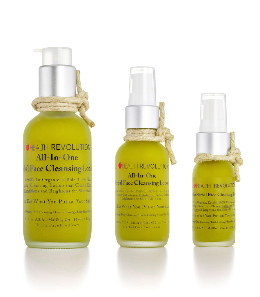 All-in-One Herbal Cleansing Lotion