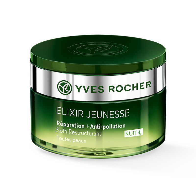 Repairs skin and protects against pollution  4 anti-aging patents*