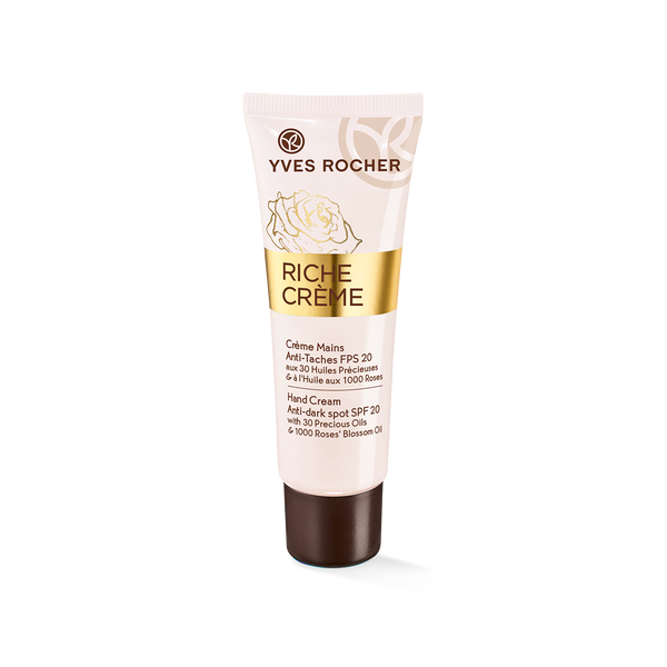 Intensely nourishes, prevents and reduces dark spots on the hands
