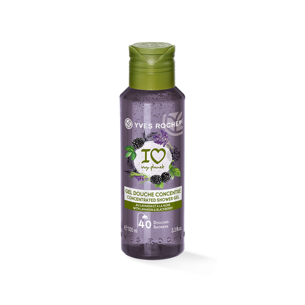 A Concentrated shower gel with relaxing benefits that preserves your pleasure while doing something for the Planet