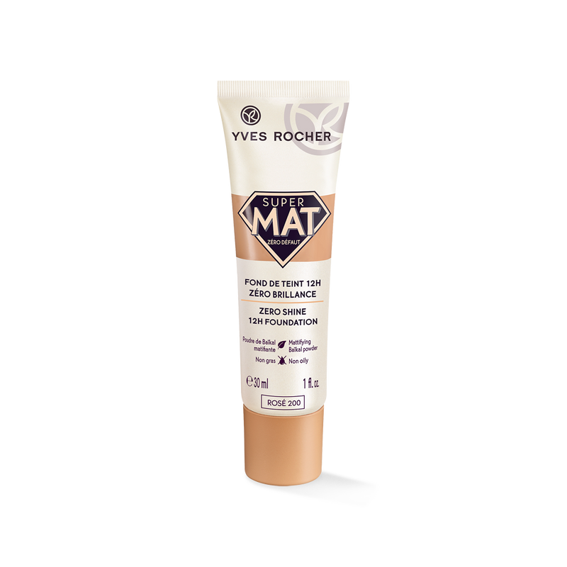 12h* long lasting foundation without mask effect