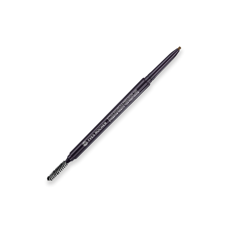 An extreme precision 12H hold Eyebrow Pencil that provides unparalleled structure