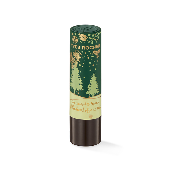 Soft lips scented with notes of wood and citrus