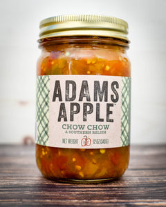 Spreads- Chow Chow (A Southern Relish), Adams Apple Co.