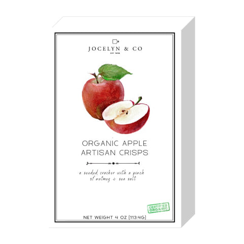 Crackers - Organic Apple Crisps, Jocelyn & Co.