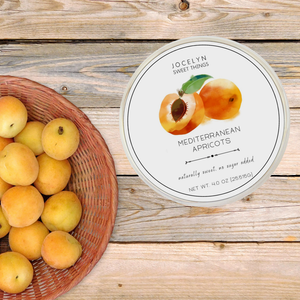 Sweets- Mediterranean Apricots, Jocelyn & Co.