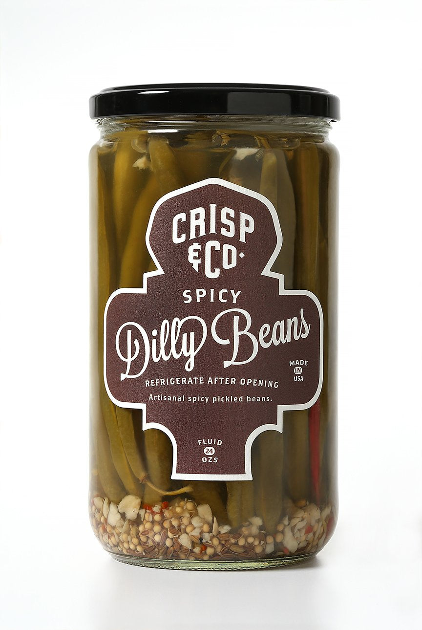 Pickles - Spicy Dilly Beans, Crisp & Co.