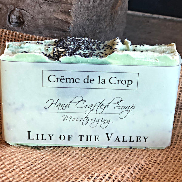 Soap - Lily of the Valley with Poppyseed