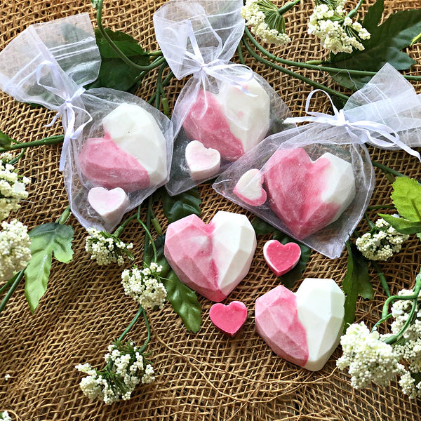 Gift Bags - Heart Shaped Soaps