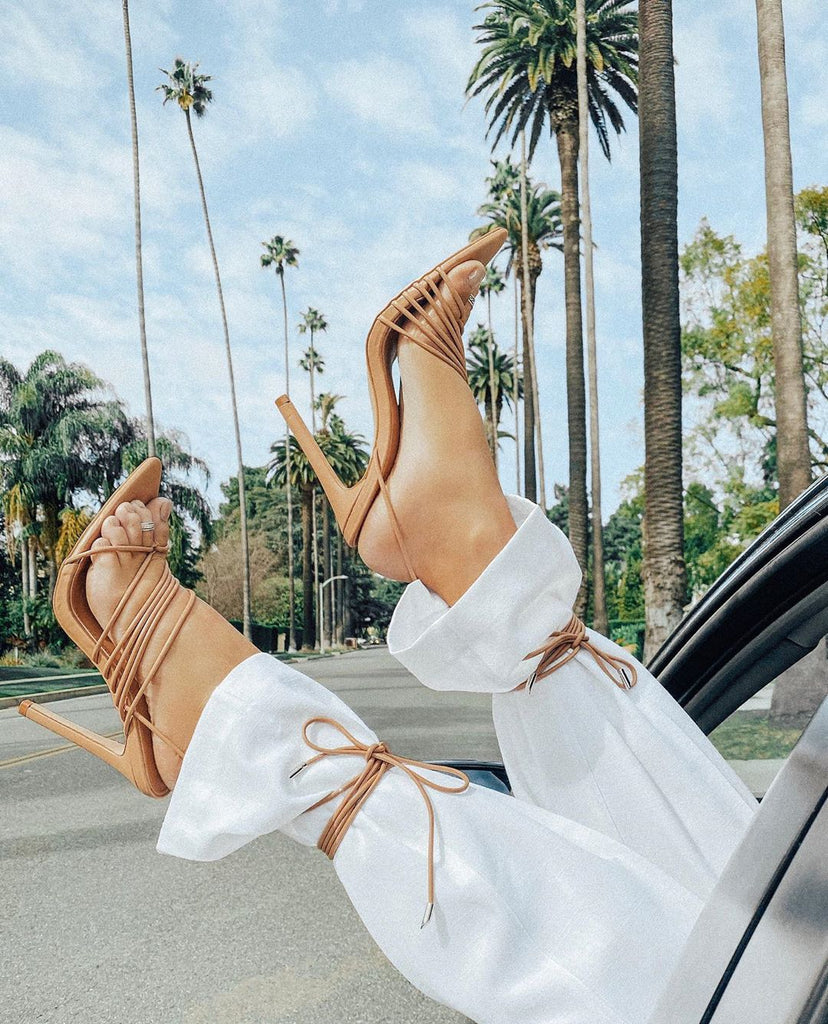 How to style - Lace up heels