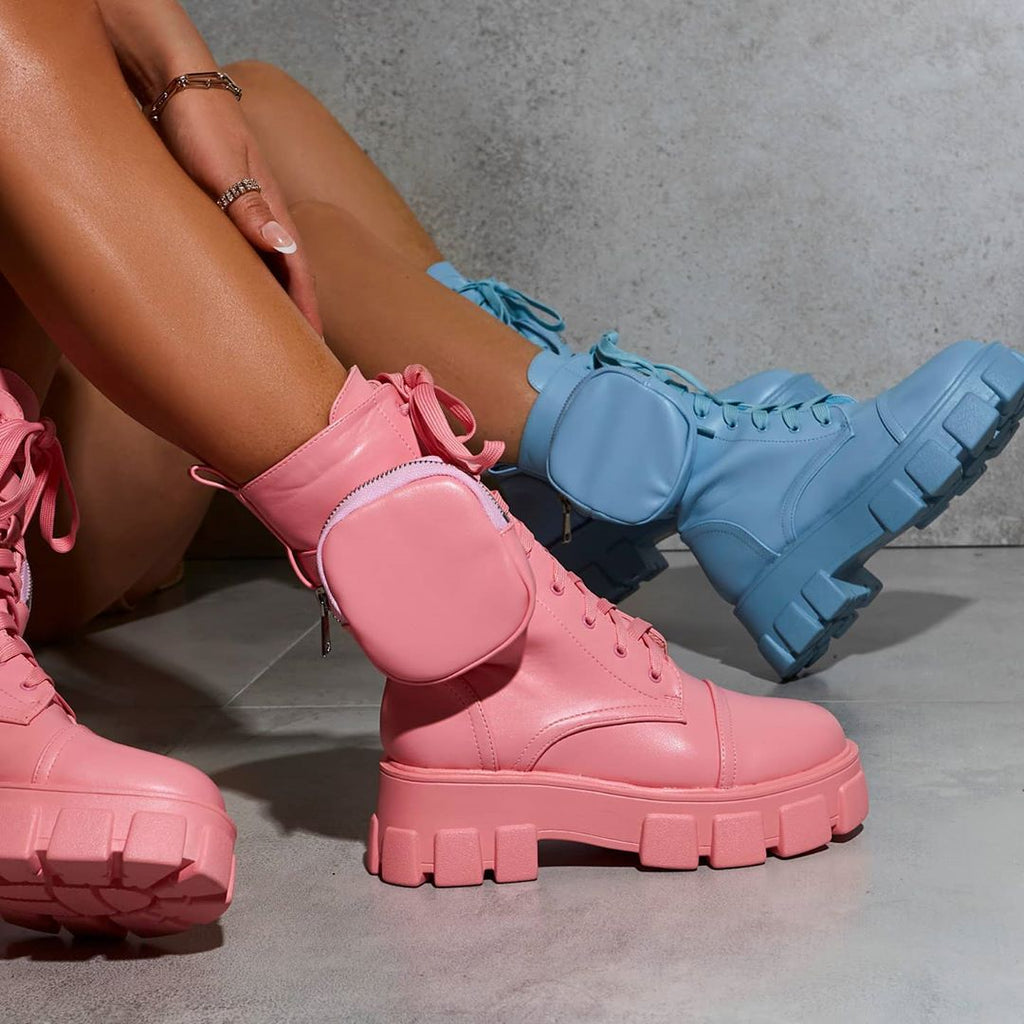 TRENDING: COLOURED BOOTS