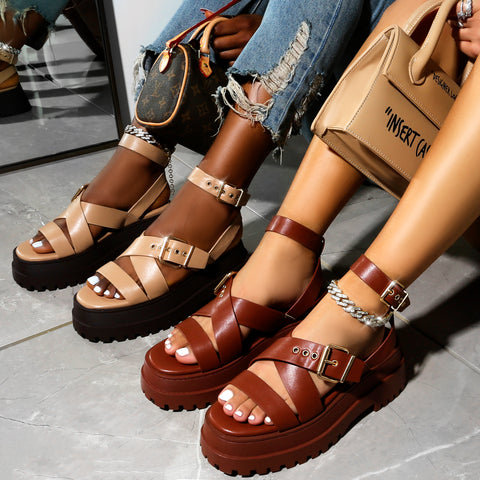 Chunky summer sandals