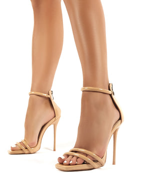 Mainstream Nude Barely There High Heels