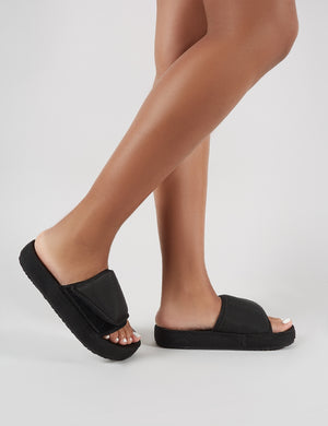 Revel Sliders in Black