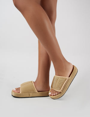 Revel Sliders in Sand