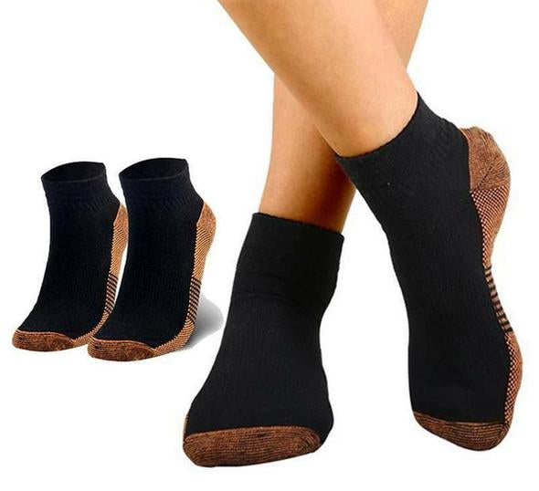 Copper Infused Compression Socks (Pack of 3)