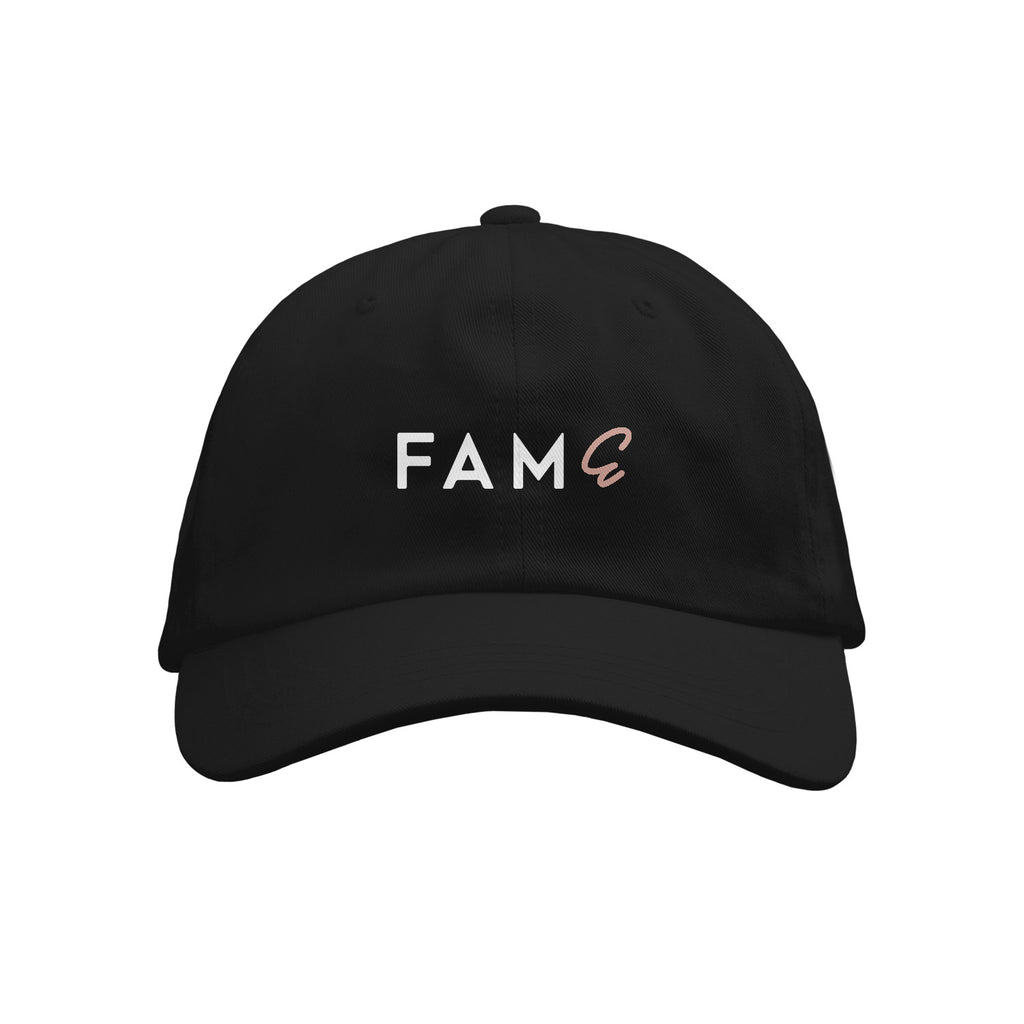FAME Black Dad Hat