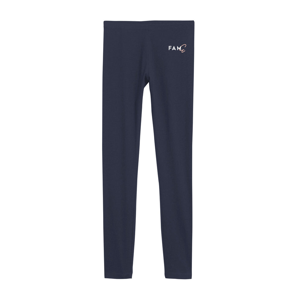 FAME Navy Leggings