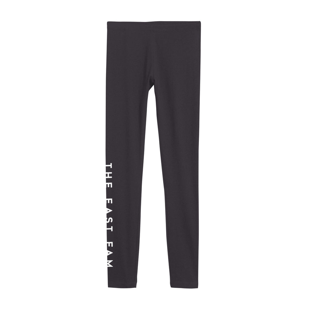Logo Charcoal Leggings