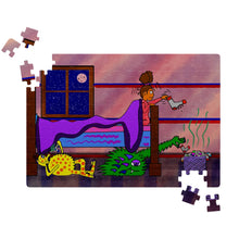 "Load image into Gallery viewer, "" I love you like Monsters love to eat socks"" (Puzzle)"