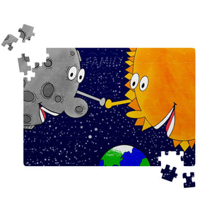 """ I love you like the Sun loves the Moon !!!"" (Puzzle)"