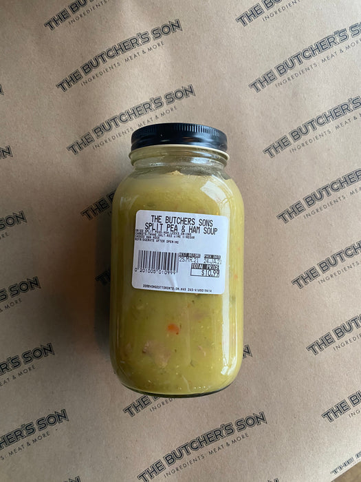 SPLIT PEA & BACON SOUP