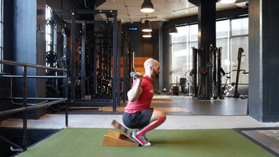 Add Variety (And Results) To Your Strength Program With The Cyclist Squat