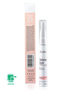 Elibel Contorno Occhi Antirughe Bava di Lumaca PURA 100% BIO CERTIFICATA Acido Ialuronico, Ippocastano Vitamina E. -Airless 15 ml Effetto Lifting Idratante Nutriente 100% MADE IN ITALY Nichel tested