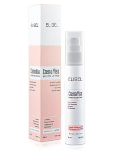 Elibel Bava di Lumaca PURA 100% BIO CERTIFICATA Crema Viso Antirughe con Acido Ialuronico Alore Vera Olio Argan -Airless 50 ml effetto Lifting, viso collo e Décolleté 100% MADE IN ITALY Nichel Tested