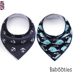 Ahoy 2 Pack Dribble Bibs