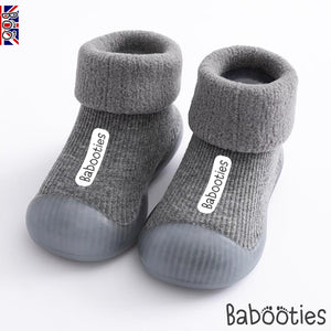 Cosy Babooties in Grey