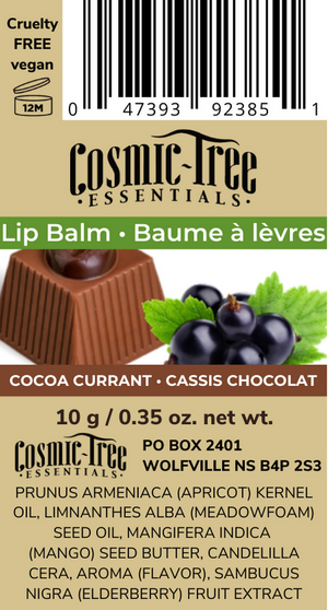 Cocoa Currant Botanical Lip Balm