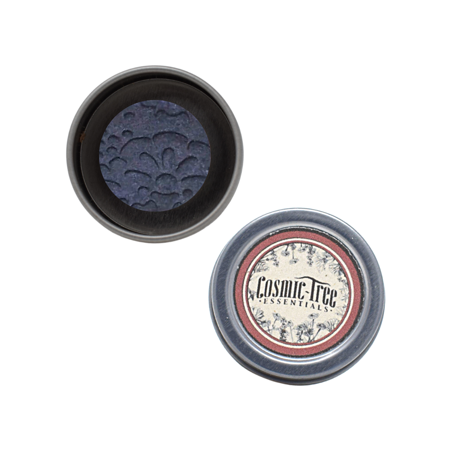 Crucible Pressed Eye Shadow in Midnight Blue