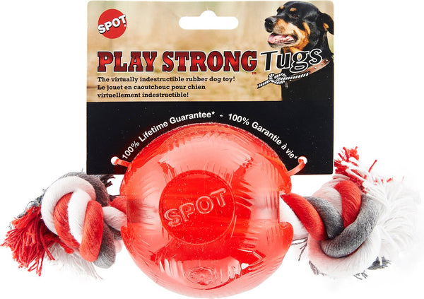 Spot Play Strong - Ball with rope