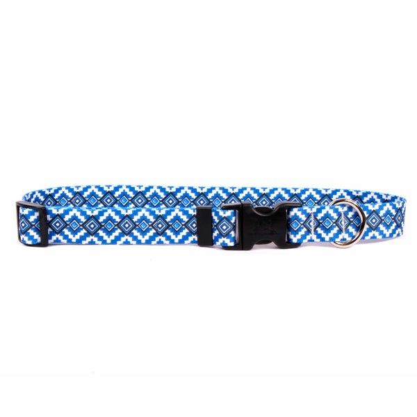 Yellow Dog Design - Aztec (Blue)